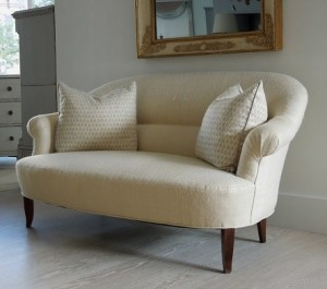 """White Antique Sofa"""